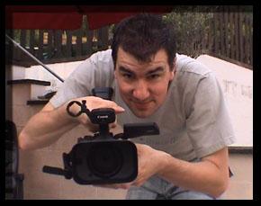 Geert met camera